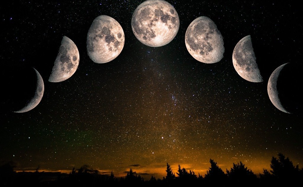 What Causes Moon Phases? (8 Moon Phases)